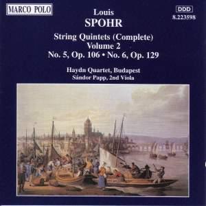 Spohr: String Quintets, Vol. 2