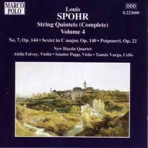 Spohr: String Quintets, Vol. 4