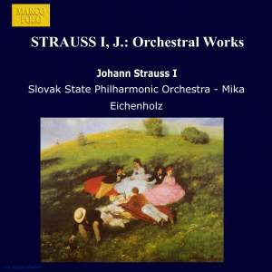Johann Strauss I: Orchestral Works Product Image