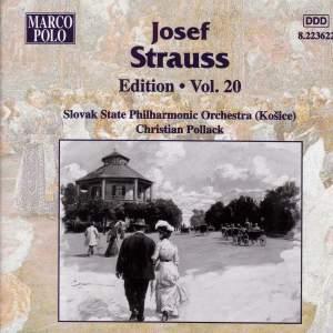 Josef Strauss Edition, Volume 20 Product Image