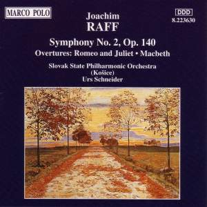 Raff: Symphony No. 2 in C major, Op. 140 Product Image