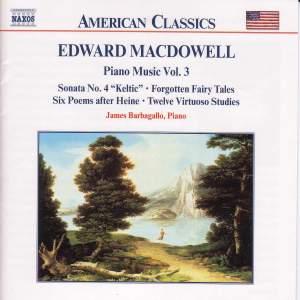 Macdowell: Piano Music Vol. 3 Product Image