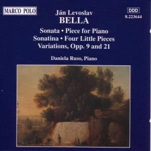 Ján Levoslav Bella: Piano Works Product Image