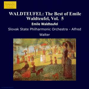The Best of Emile Waldteufel, Volume 5 Product Image