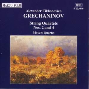 Grechaninov: String Quartets Nos. 2 & 4 Product Image