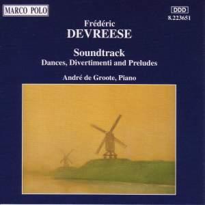 Frederic Devreese: Soundtrack Product Image