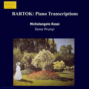 Bartok: Piano Transcriptions Product Image