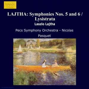 László Lajtha: Symphonies Nos. 5 and 6 Product Image