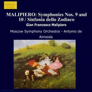 Malipiero: Symphonies Nos. 9, 10 & Sinfonia dello Zodiaco Product Image