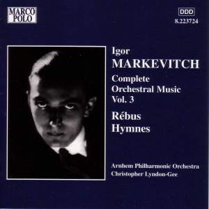 Igor Markevitch: Complete Orchestral Music, Vol. 3 Product Image