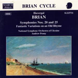 Havergal Brian: Symphonies Nos. 20 and 25 Product Image