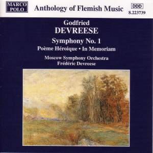 Godfried Devreese: Symphony No. 1 Product Image
