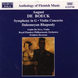 August de Boeck: Symphony in G Major & Violin Concerto Product Image