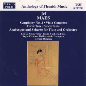 Jef Maes: Symphony No. 2 & Viola Concerto Product Image