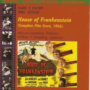 Salter, H: House of Frankenstein Product Image