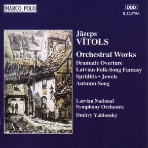 Vitols: Orchestral Works Product Image