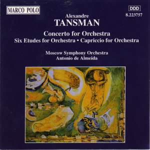 Alexandre Tansman: Orchestral Works Product Image