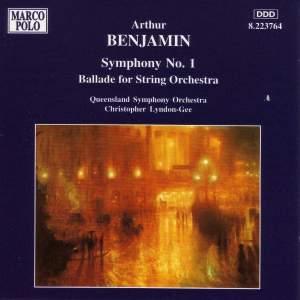 Arthur Benjamin: Symphony No. 1 Product Image