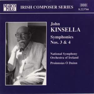 John Kinsella: Symphonies Nos. 3 and 4 Product Image
