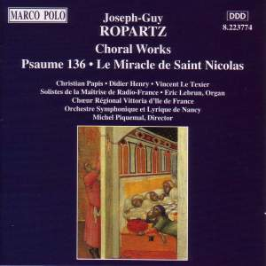 Joseph-Guy Ropartz: Choral Works Product Image
