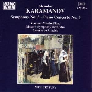 Karamanov: Symphony No. 3 & Piano Concerto No. 3 Product Image