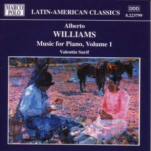 Alberto Williams: Music for Piano, Vol. 1 Product Image
