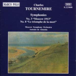 Tournemire: Symphonies Nos. 3 and 8 Product Image