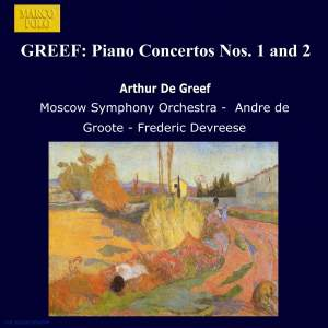 Greef: Piano Concertos Nos. 1 and 2 Product Image