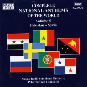Complete National Anthems of the World, Vol. 5: Pakistan - Syria