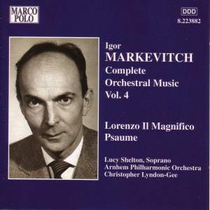 Igor Markevitch: Orchestral Music, Vol. 4 Product Image