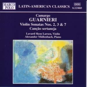 Camargo Guarnieri: Violin Sonatas Nos. 2, 3 & 7 Product Image