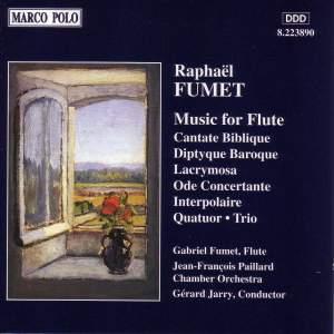 Raphaël Fumet: Music for Flute Product Image