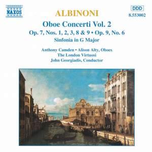 Albinoni: Oboe Concertos, Vol. 2 Product Image