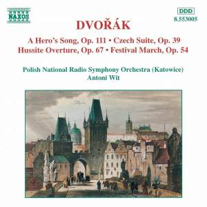 Dvorak: A Hero's Song, Czech Suite, Hussite Overture & Festival March Product Image