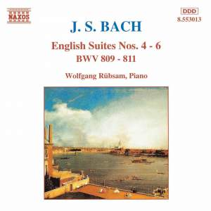 Bach, J S: English Suite No. 4 in F major, BWV809, etc. Product Image