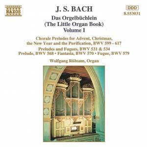 J.S. Bach: Das Orgelbuchlein, Vol. 1 Product Image