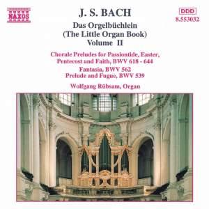 J.S. Bach: Das Orgelbuchlein, Vol. 2 Product Image