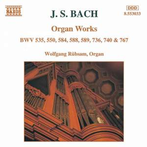 J. S. Bach: Organ Works Product Image