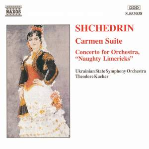 Shchedrin: Carmen Suite & Concerto for Orchestra No. 1 Product Image