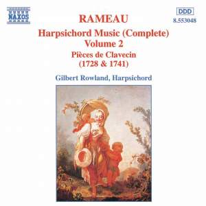 Rameau: Harpsichord Music, Vol. 2
