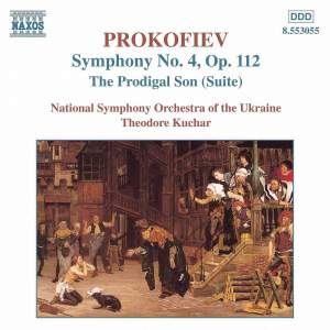 Prokofiev: The Prodigal Son & Symphony No. 4 Product Image