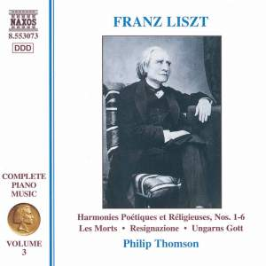 Liszt: Complete Piano Music Volume 3