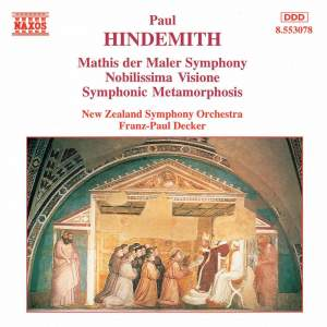 Hindemith: Symphony 'Mathis der Maler', Nobilissima Visione & Symphonic Metamorphoses Product Image
