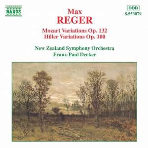Reger: Variations & Fugues for orchestra