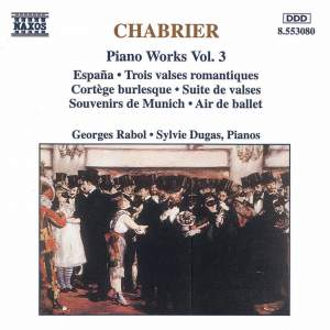 Chabrier: Piano Works, Vol. 3 Product Image