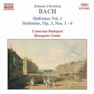 J. C. Bach: Sinfonias, Vol. 1 Product Image
