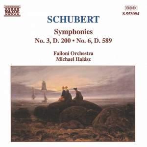 Schubert: Symphonies Nos. 3 & 6 Product Image