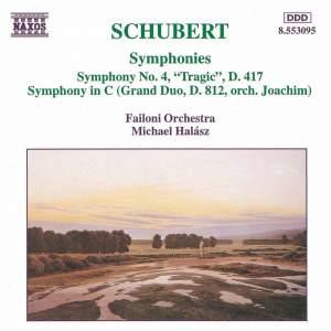 Schubert: Symphonies Nos. 4 & 6 Product Image