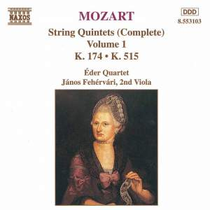 Mozart: The Complete String Quintets Vol. 1 Product Image