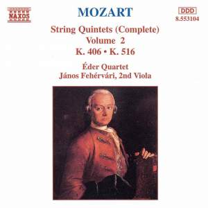 Mozart: String Quintets Nos. 2 & 4 Product Image